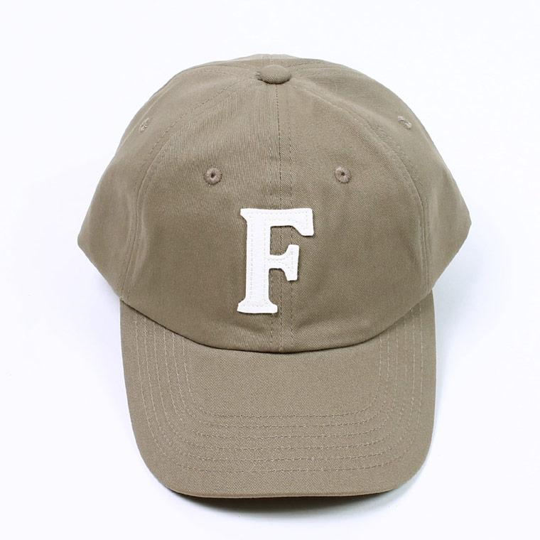 TWILL BB CAP - TAN / F NATURAL