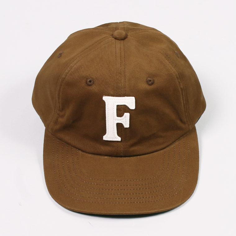 TWILL BB CAP - BROWN / F NATURAL