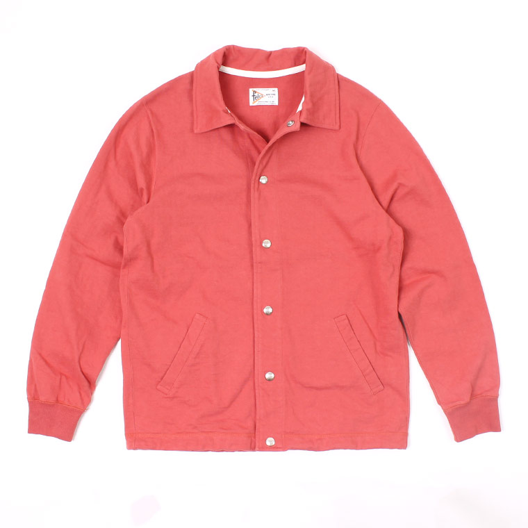 COACH JACKET SUPER HARD JERSEY - FADED RED