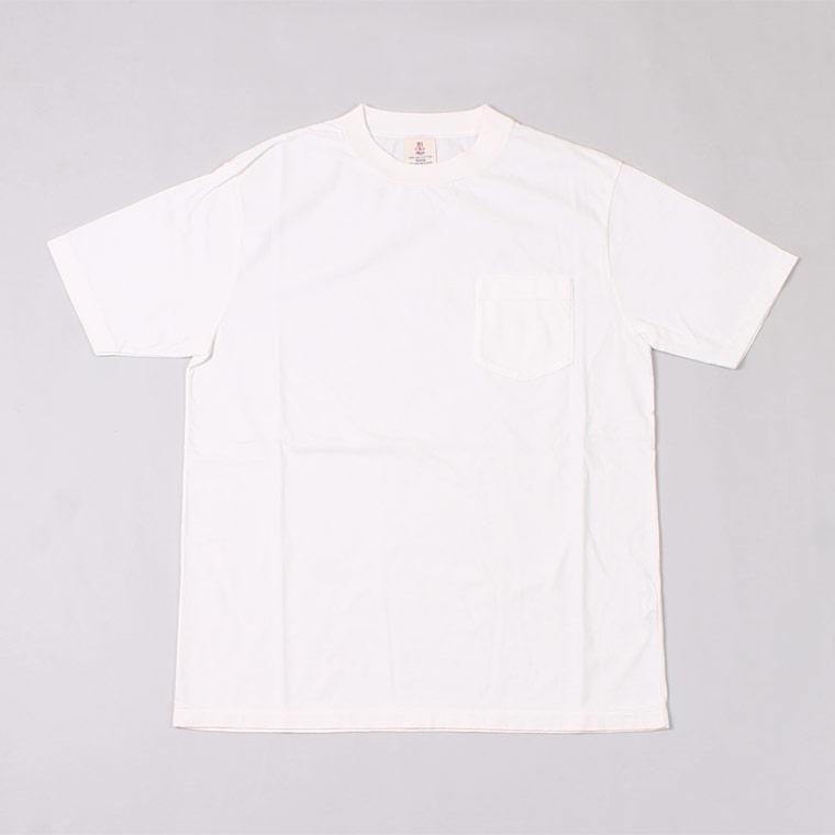 S/S HI CREW TEE USA COTTON - WHITE