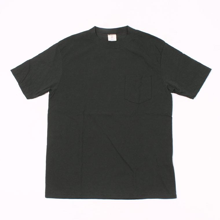 S/S HI CREW TEE USA COTTON - BLACK