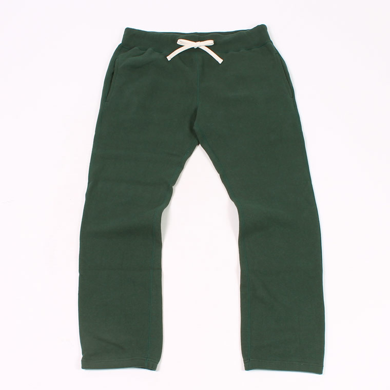 16oz HEAVY WEIGHT FRENCH TERRY GYM PANT - DARK GREEN