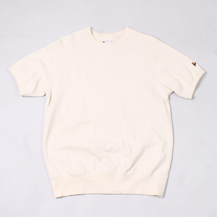 S/S RAGLAN SWEAT LT WEIGHT FRENCH TERRY - NATURAL
