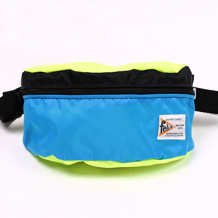 MADE IN USA FANNY PACK - LT BLUE CRAZY