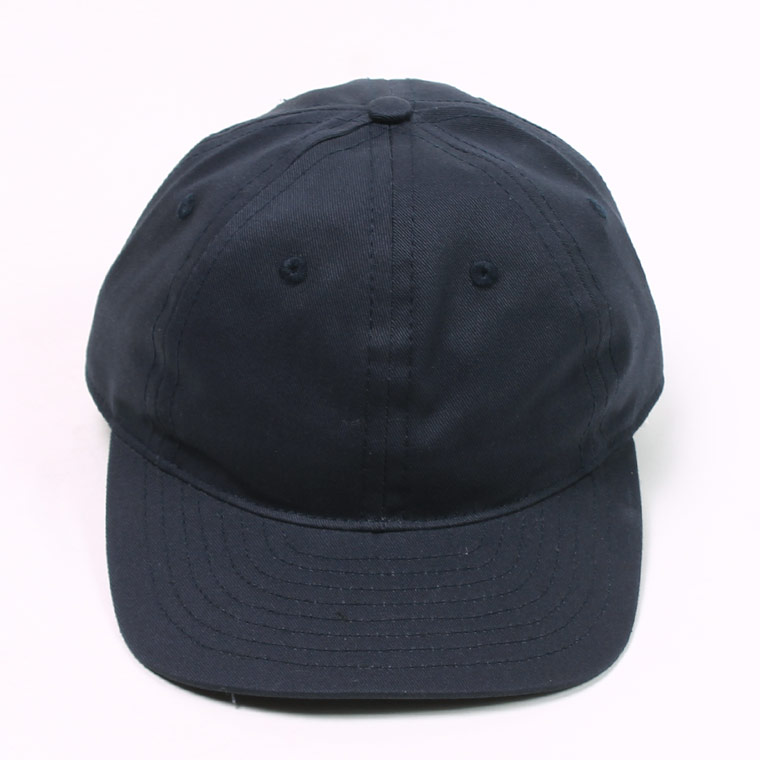 TWILL 6 PANEL BB CAP MADE IN U.S.A. - NAVY