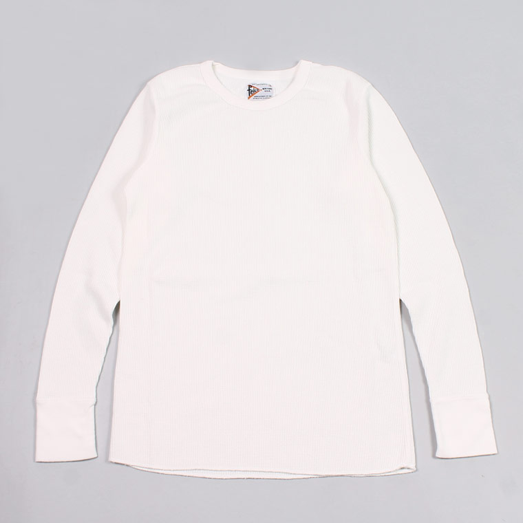 L/S HEAVY WEIGHT THERMAL CREW NECK - WHITE