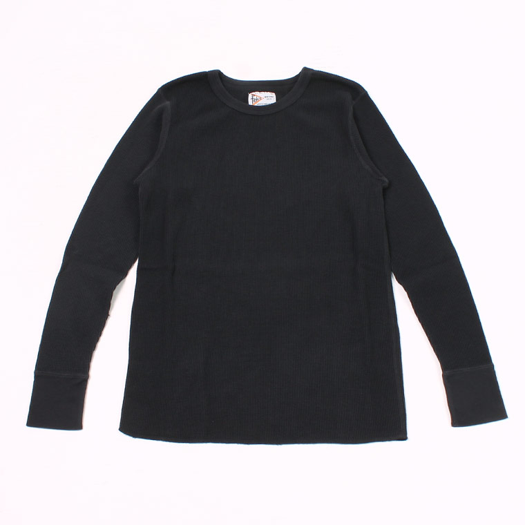 L/S HEAVY WEIGHT THERMAL CREW NECK - BLACK