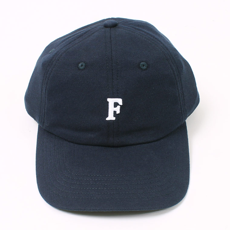 PIQUE BB CAP w/ SMALL EMBROIDERY - NAVY_F_NATURAL