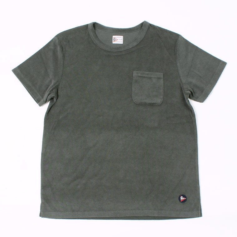 S/S PILE SET IN CREW - CHARCOAL