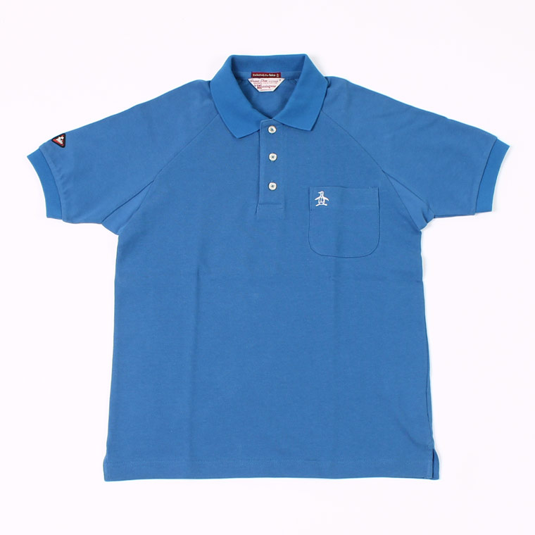 Munsingwear x FELCO S/S 60'S RAGLAN SLEEVE POLO - BLUE