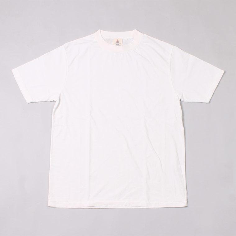 S/S HI CREW TEE 30s USA COTTON - VINTAGE WHITE